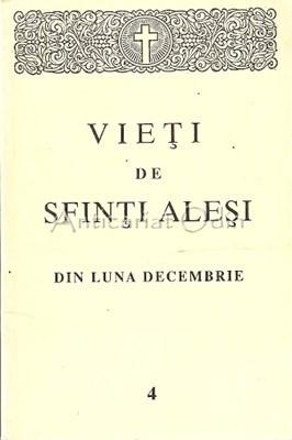 Vieti De Sfinti Alesi Din Luna Decembrie - Episcopia Romanului Si Husilor