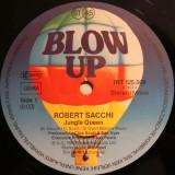 Robert Sacchi - Jungle Queen (1982, Blow Up), disc vinil Maxi Single
