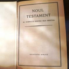 Noul testament al domnului nostru Isus Hristos- Societatea biblica