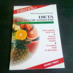 DIETA GRUPELOR DE SANGE - ANITA HESSMANN KOSARIS