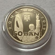 50 Bani 2019 Romania, PROOF, in capsula, 30 Ani de la Revolutia din 1989