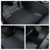 Covorase presuri interior cauciuc calitate Premium stil tavita dedicate Skoda Octavia 2 2004-2013