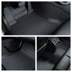 Covorase presuri cauciuc Premium stil tavita Audi A4 B8 2007-2015