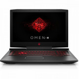 Laptop Gaming HP OMEN, Intel® Core i7-7700HQ, 17.3 inch, Full HD, 8 GB DDR4, 128GB SSD 1TB HDD, nVidia GeForce GeForce GTX 1060 6GB, Windows 10 Home