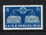 Luxembourg 1951 Europa CEPT 4Fr Mi.483 MH AC.335