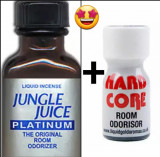 JUNGLE JUICE PLATINUM 24ML+HARD CORE10 ML ML,POPPERS,AROMA CAMERA ,RUSH,CALITATE