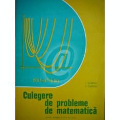 Culegere de probleme de matematica pentru treapta a II-a