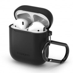 Husa SPIGEN AIRPODS BLACK