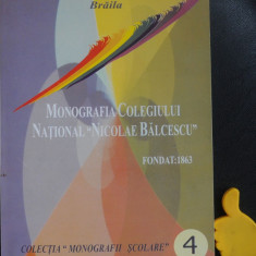Monografia Colegiului National Nicolae Balcescu Braila Toader Buculei