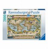 Cumpara ieftin Puzzle Harta Lumii, 2000 piese, Ravensburger