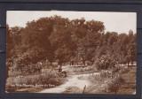 TURNU  MAGURELE  VEDERE  DIN PARC CIRCULATA 1937