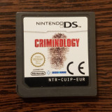 Joc Nintendo Criminology pentru console DS DSi DSlite DSi XL