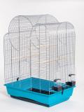 Colivie pentru papagali ELIZA - cromată - 54 x 39 x 76 cm