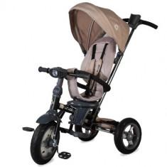 Tricicleta Multifunctionala 4in1 cu Sezut Reversibil Velo Air Bej, Coccolle
