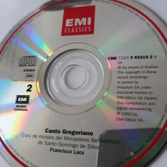 CANTO GREGORIANO  - CD
