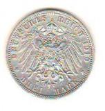 SV * Germania  3  MARK  1910 * ARGINT * WILHELM II  Rege Prussia         AUNC, Europa