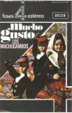 Caseta Los Machucambos – Mucho Gusto, originala, jazz