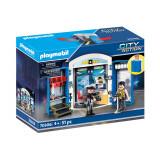 Cutie de joaca Paymobil City Action - Statie de politie, Playmobil