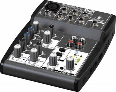 Mixer audio Behringer XENYX 502 foto