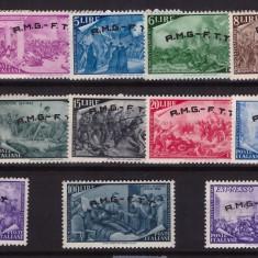Trieste Zona A 1948 - Centenarul revolutiei 1848, serie neuzata