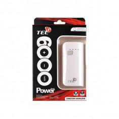 Baterie Externa 6000 mAh (Alb) TEL1