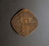 Insigna 1929 Centenarul eliberarii Giurgiului - per regalista - interbelica