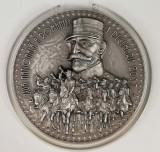 Medalie Argint 1 decembrie Marea Unire Ferdinand Centenar