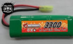 Baterie DP-072 9.6V 3300mAh Ni-MH [DragonPro] foto
