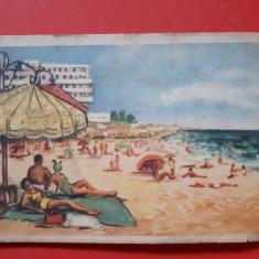 CARTE POSTALA EFORIE desen × RPR 1958