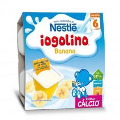 Cereale copii NESTLE Baby Iogolino cereale si banane 4x 100g de la 6 luni