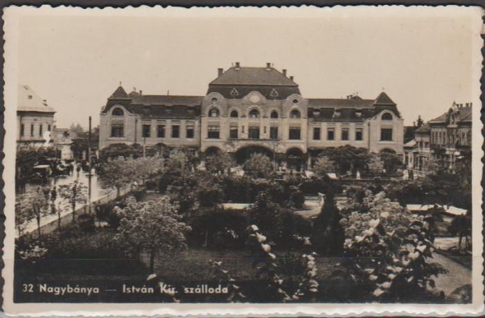 Baia Mare aprox. 1940 - Hotelul Regele Stefan
