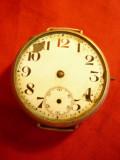 Ceas de Mana - tip Omega -inc.sec.XX- pt piese de schimb ,d.cadran=3,4cm