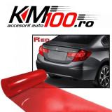 Folie protectie faruri / stopuri (60 x 60 cm) - rosu