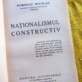 Carte Nationalismul constructiv ed 1940
