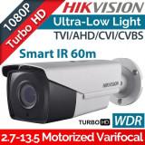 Cumpara ieftin Camera supraveghere video exterior Hikvision Ultra Low Light DS-2CE16D8T-IT3ZF, 2MP, IR 60 m, 2.7 mm - 13.5 mm, motorizat