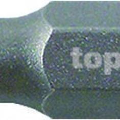 "Bit torx T30 x 25 mm SVCM prindere 1/4"" set 2 bucati Topmaster Profesional"