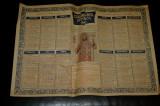 Calendar crestin ortodox 1960