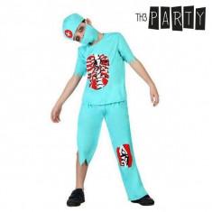 Costum Deghizare pentru Copii Doctor zombi (4 Pcs)