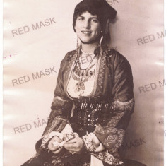 1186 - Princess ELENA, sotia Regelui Carol II - real PRESS Photo (20/15 cm) 1921