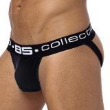 Sexy Chiloti Jockstrap Barbati Male BS Push Up Suspensor Boxeri Open Back, Negru, M