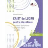 Caiet de lucru pentru educatoare 4-5 ani Grupa mijlocie - Stefania Antonovici