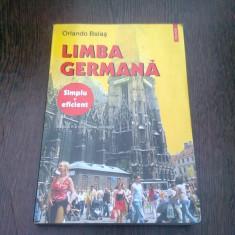 LIMBA GERMANA - ORLANDO BALAS