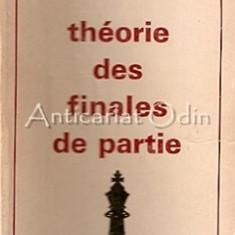 Theorie Des Finales De Partie - Youri Averbach