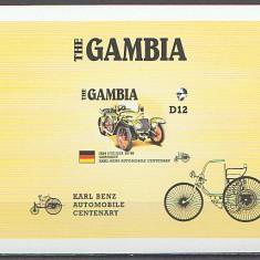 Gambia 1986 - automobile, colita neuzata