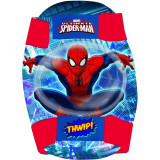 Set protectie Cotiere Genunchiere Spiderman Eurasia 35684