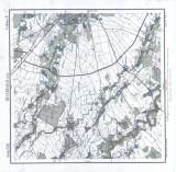 Lot 2 Harti Bucurescii est - vest 1905 Institutul Geografic al Armatei Bucuresti