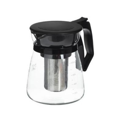 Cana infusor Secret de Gourmet® Black line, sticla, 900 ml, 12x15 cm foto