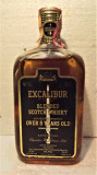 EXCALIBUR, BLENDED SCOTCH WHISKY, OVER 5 YEAR OLD cl 75 gr 43 ANII 60/70