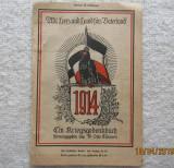 Reclama carte si film, Mit Herz und Hand fürs Vaterland. WW1- 1914.