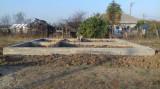Teren intravilan cu Fundație turnată
